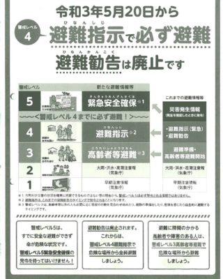 26避難指示で必ず避難のサムネイル